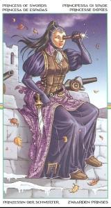 Princess of Swords - Wheel of the Year Tarot