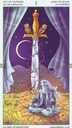 Ace of Swords, Wheel of the Year Tarot